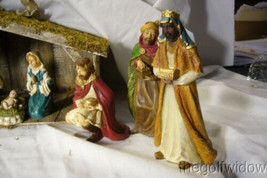 Bethany Lowe Nativity and Creche and Manger image 2