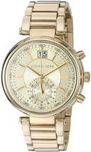 Michael Kors Women's Sawyer Gold-Tone watch MK6362 - $126.71