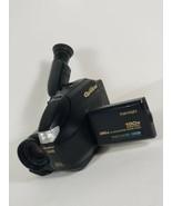 Quasar VM-L450 PalmSight VHS-C Camcorder W/ battery  Untested - $29.39