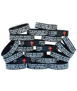 50 of Serenity Prayer Wristbands - Motivation & Inspiration Band Bracelets - $39.48