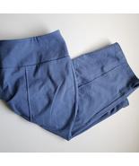 Women With Control Pedal Pushers Capris MP Medium Petite Blue - $10.00