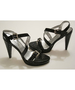 Annabella Club shoes strappy alligator texture patent leather sz 39 9 - $27.71