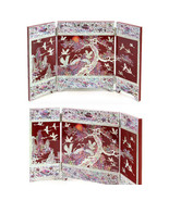korean traditional folding screen by master Jang Taebok made in korea - $335.49