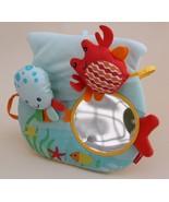 Skip Hop Baby Ocean Pals Activity Mirror, Blue Octopus Crab Fish - $19.77