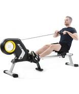 Magnetic Resistance Rowing Machine+Foldable Design 8Level Adjustable Res... - $479.99