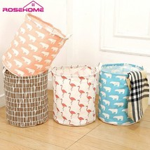 ROSEHOME® Foldable Lundry Basket Portable Lundary Bags Large Canvas Wate... - $13.15