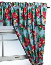 Laura Ashley Holiday Multi-color Floral Window Valance Treatment - $19.97