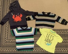 Gymboree Baby Boy Lot Of 4 Size 6-12 Months Sweater SWEATSHIRT Shirts - $15.88