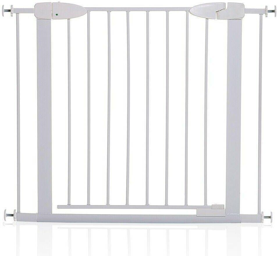 Dreambaby Baby Gate 29.5 in. H. Multipurpose Swinging Self-Locking Metal White