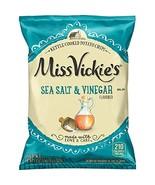 Miss Vickie's Sea Salt & Vinegar Flavored Kettle Cooked Potato Chips, 1.... - $37.77