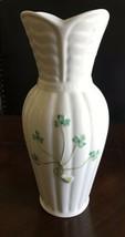 "8"" Corrib Vase Shamrock by Belleek Pottery, New - $33.24"