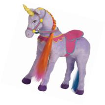 Rockin' Rider Sprinkles Stable Unicorn Plush, Purple - $104.04