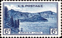 1934 6c Crater Lake, Oregon Scott 745 Mint F/VF NH - $2.28