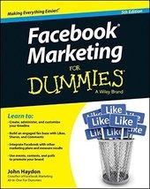 Facebook Marketing For Dummies [Paperback] [Dec 31, 2014] Haydon, John - $17.32