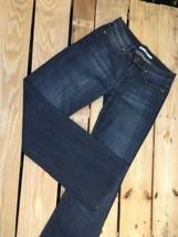 Joe's Women's Boot Cut Provocateur Fit Dark Denim Jeans Pants Size 26W Dark Blue - $36.89