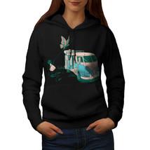 Hippie Bus Sweatshirt Hoody Vintage Van Women Hoodie - $21.99+