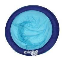 SwimWays Spring Float Papasan Pool Chair, Dark Blue / Light Blue - $38.73