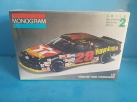 Monogram Havoline Ford Thunderbird 1/24 Model Car Kit #2430 1991 NASCAR ... - $18.69