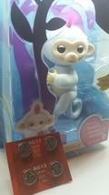 Fingerlings Monkey White Interactive Sophie WooWee Bonus Extra Batteries... - $30.95