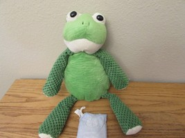 Scentsy Buddy Ribbert the Frog 2010 Green plush... - $13.75