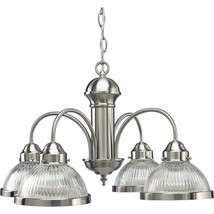Progress Lighting 4-Light Brushed Nickel Chandelier, P4095-09 - $49.99