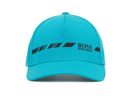 Hugo Boss Men's Melange Logo Cap Hat With Contrast Embroidery Sport Logo image 9