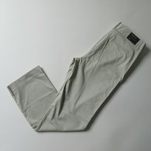 NWT J.Crew Factory Cotton Trouser in Stone Beige Stretch Pants 8 x 32 ½ $75 - $27.54