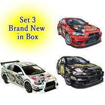 1/24 Aoshima Itasha Sonico, Nanoha, K-On! Lancer Evolution X Model Kit S... - $427.03