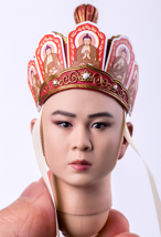 1/6 Chinese mythological characters  tang's monk tang san-tibet  head st... - $49.54
