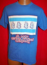 Chicago Cubs 2007 Central Division Champions T-SHIRT M Baseball Mlb Believe W - $16.82
