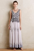 NWT ANTHROPOLOGIE SOJOURNER PRINTED MAXI DRESS by FLOREAT 0 - $107.99