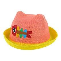 Summer Sun Hat Baby Boys And Girls Summer Hat Visor Baby Hat Straw Hat