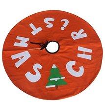 Handmade Orange Tree Skirt [CHRISTMAS] Christmas Ornament - $24.88