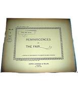 1893 Chicago Worlds Fair REMINISCENCES Photo Series #16 - $25.99