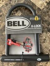 Bell U Lock Bike Lock Security Level 4 Anti Theft Shackle Hardened Steel New - $17.81