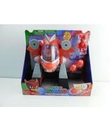 Disney Junior PJ Masks Owlette Turbo Mover Vehicle & Figure NEW - $15.83
