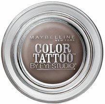Maybelline EyeStudio Color Tattoo 24Hr Eyeshadow, Tough As Taupe [35], 0.14 oz b - $14.69