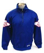 Nike Air Jordan Wings Blue 1/4 Zip Pullover Jacket Men's NWT - $97.49