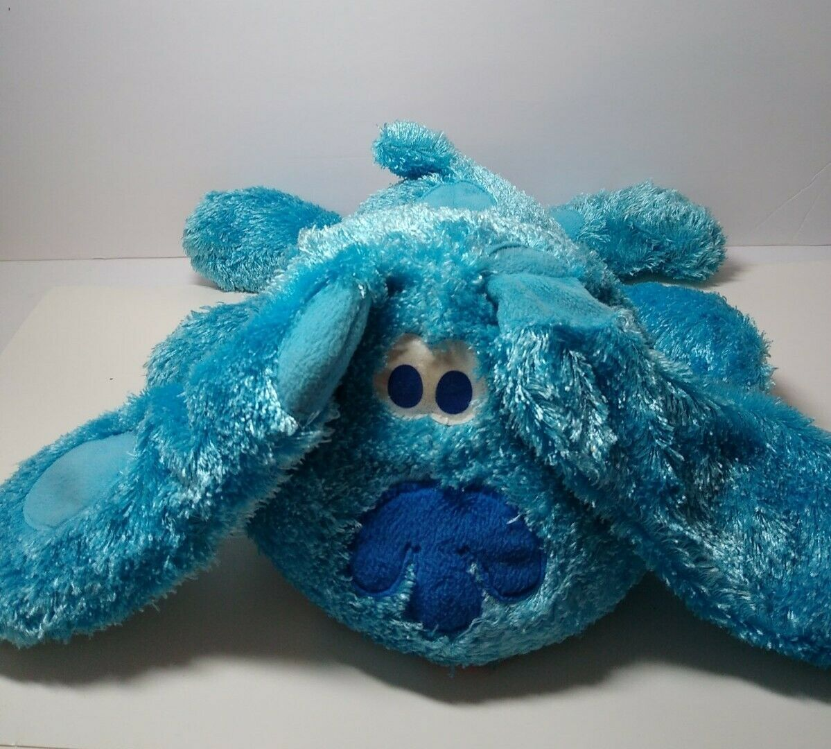 "Primary image for Blues Clues Fisher Price 14"" Mattel 2002 Floppy Plush Stuffed Animal Toy"