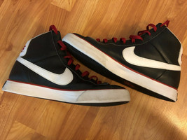 Nike Sweet Classic Black / Red High Men's Basketball Shoes 354701-036 Si... - $45.54