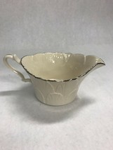 Lenox  creamer silver edge VINTAGE  USA dining serving coffee porcelain ... - $38.61