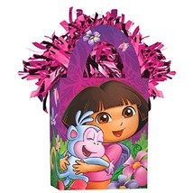 Dora Flower Adventure Kids Birthday Party Decoration Gift Bag Balloon We... - $6.66