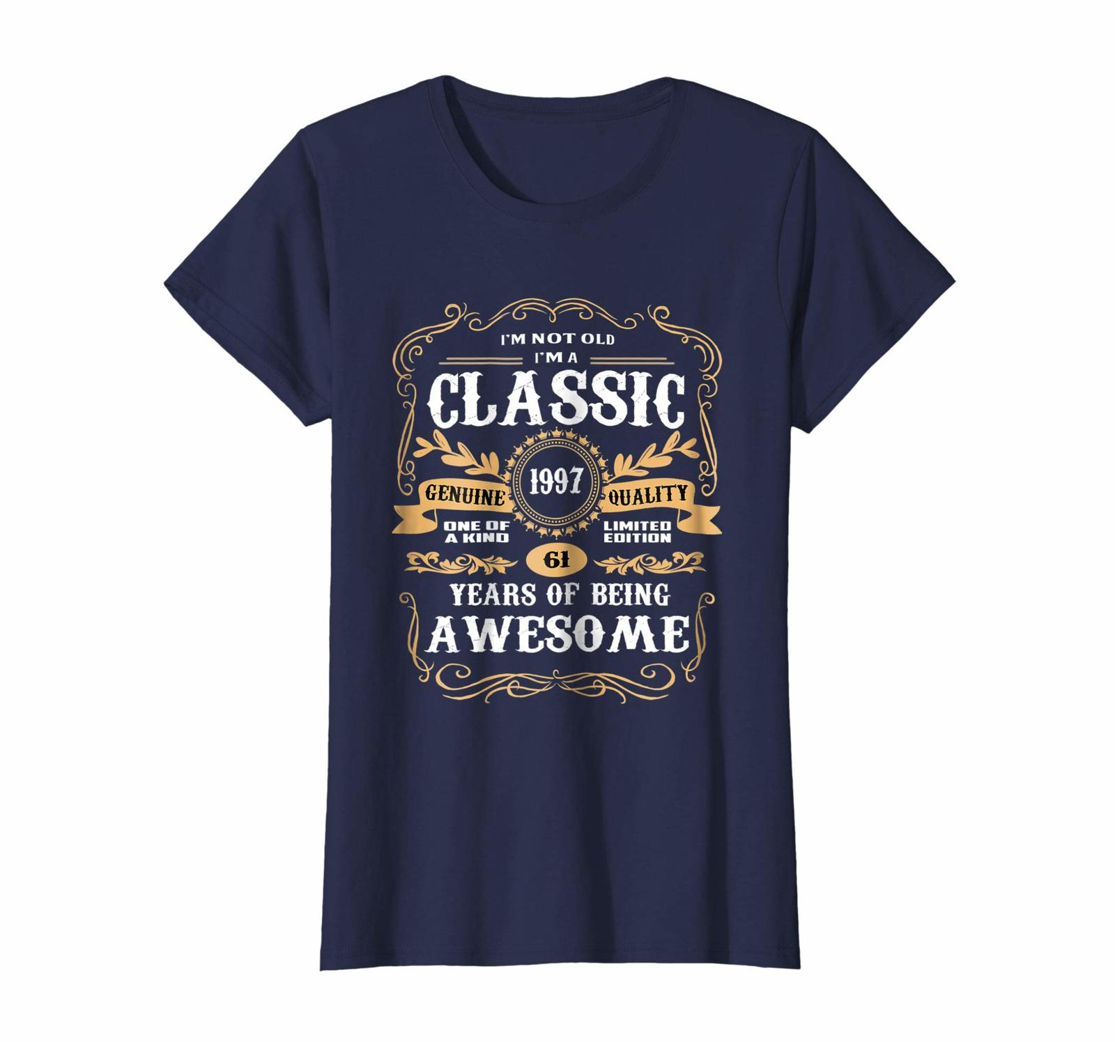 Uncle Shirts -   Vintage Classic 1997 Shirt 21st Birthday Gifts For Women Men Wo image 3
