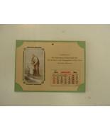 Religioso Calendario, 1942 , Assoc de San José y Hermanos, Santa Cruz,An... - $55.19