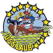 US Navy DD-613 USS Laub a Benson class destroyer of WWII Era Patch NEW!!! - $11.87