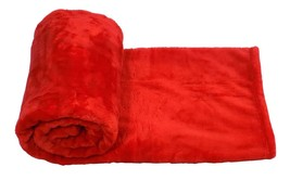 Little Big Nube Rojo Manta Polar 130cm X 150cm - $8.85