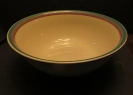"""Pfaltzgraff  Juniper 10"""" Mixing Serving Bowl Porcelain Green and Mauve - $7.92"""