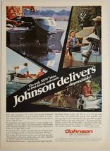 1968 Print Ad Johnson Sea-Horse Outboard Motors 3 Models Shown - $16.81