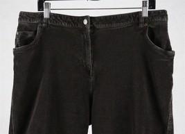 Woolrich Womens Brown Corduroy Stretch Capri Pants, Size 10, Measures 36 x 25 - $17.81