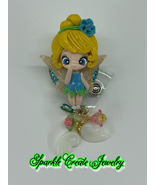 LIMITED EDITION : Tinker Bell Clay Badge Reel - $18.99